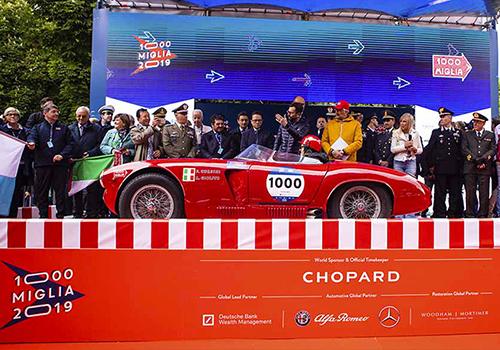 del 15 al 18 de mayo de 2019 se lleva a cabo Mille Miglia