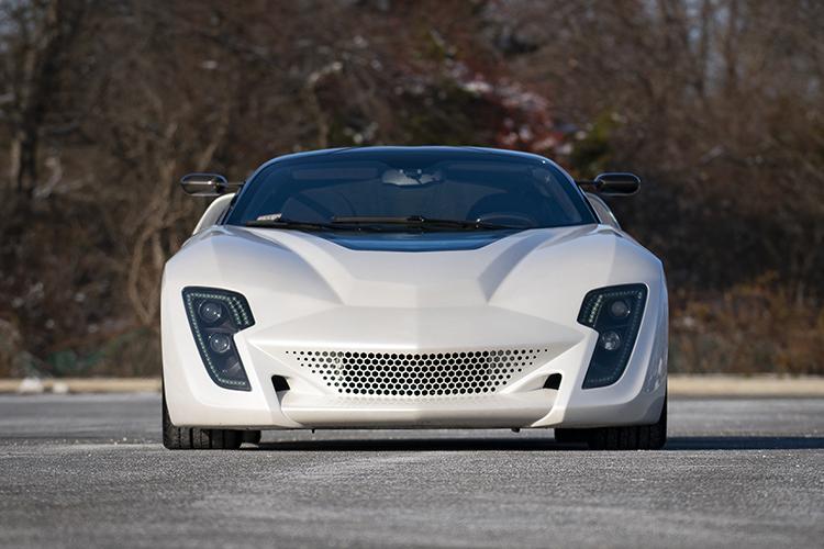 2009 Bertone Mantide Concept modelo ZR1