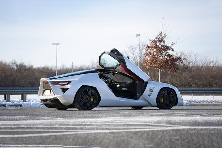 2009 Bertone Mantide Concept modelo hypercar