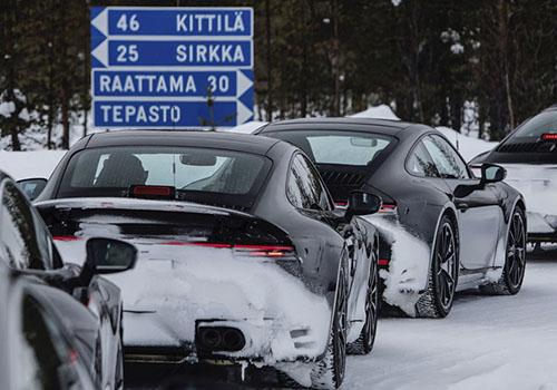 modelo 992 Porsche 911 2019 porsche los angeles autoshow pruebas calor frio clima motor chasis calefaccion tecnologia cockpit tres millones de kilometros estetica calidad resistencia