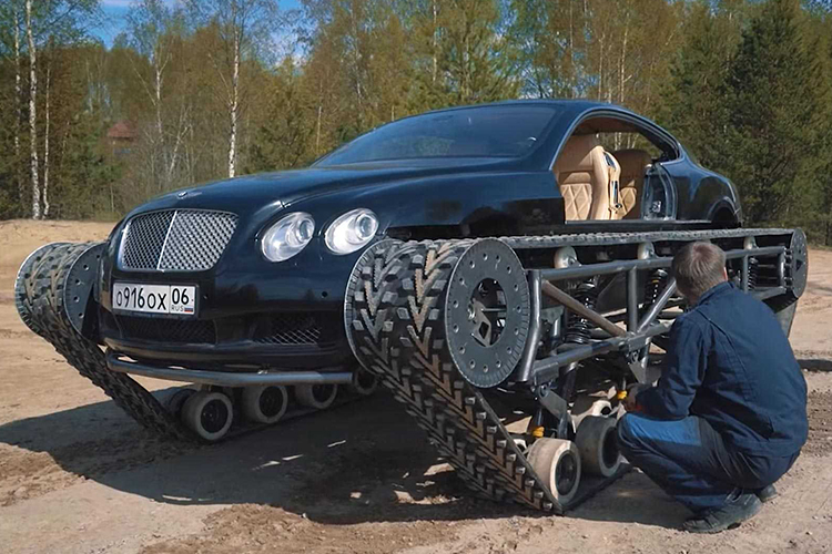 AcademeG Bentley Continental GT modificado Bentley Ultratank