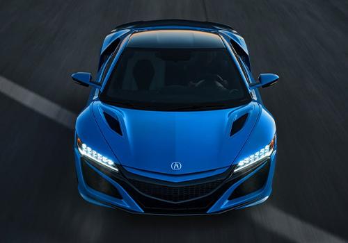 Acura NSX Long Beach Blue 2021 equipamiento