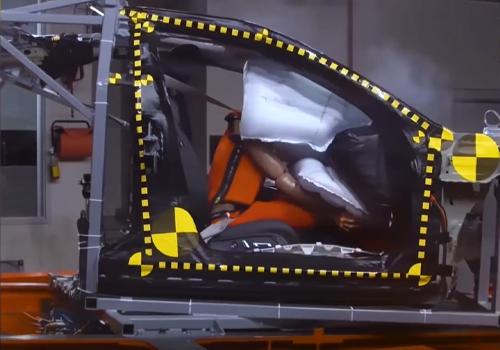 nuevo airbag disponible en todos los próximos modelos Acura y Honda