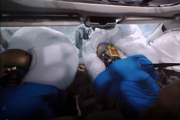 Acura desarrolla nuevo airbag pruebas de desempeño