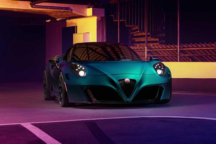 Alfa Romeo 4C Zeus edición limitada