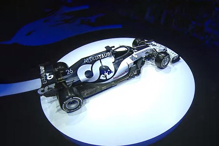 Alpha Tauri AT01 modelo Fórmula 1