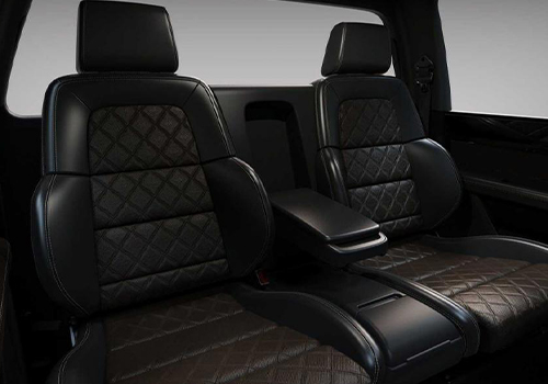 pickup off-road asientos diseño lujo