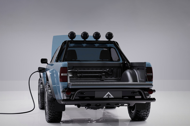 Alpha WOLF pickup off-road autonomía