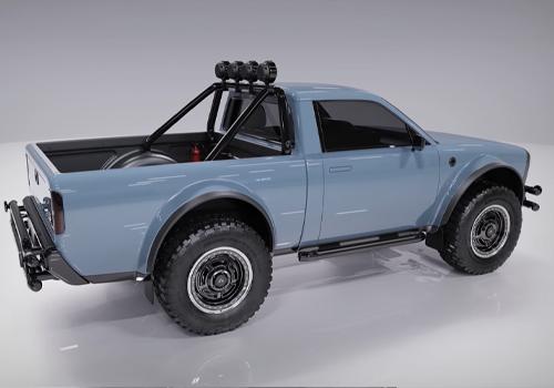 pickup off-road diseño tecnologia
