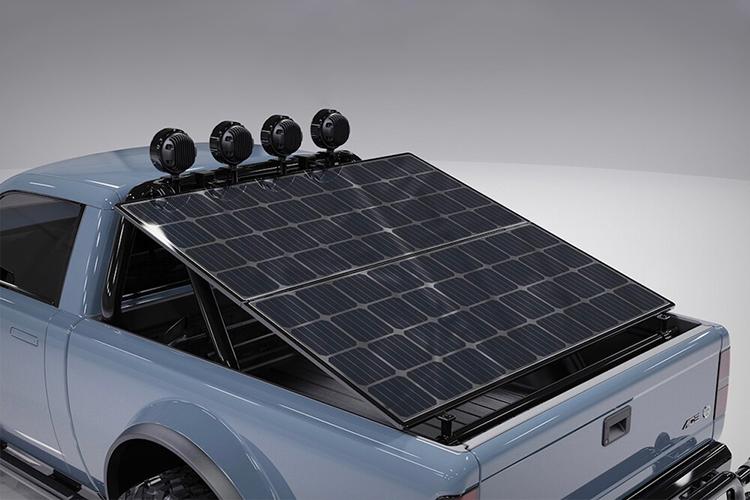 Alpha WOLF pickup off-road panel solar
