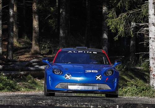 Alpine A110 Rally innovaciones