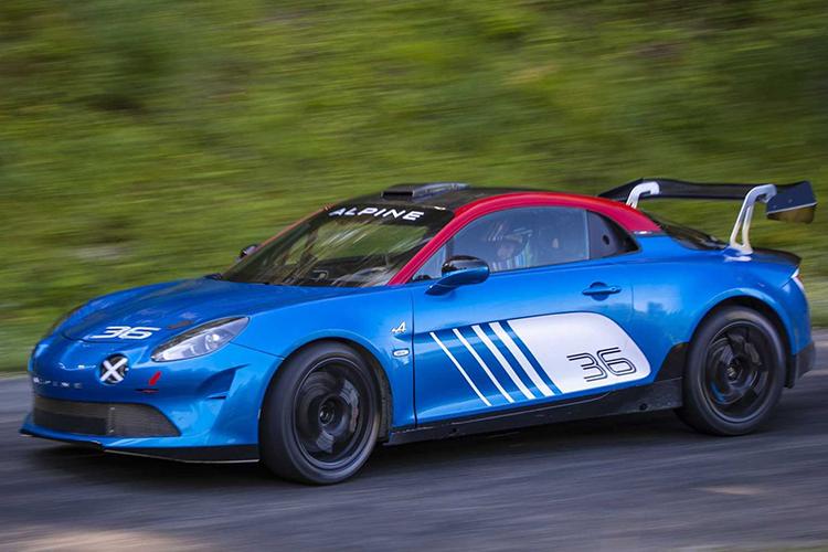 Alpine A110 Rally vehiculo equipos privados