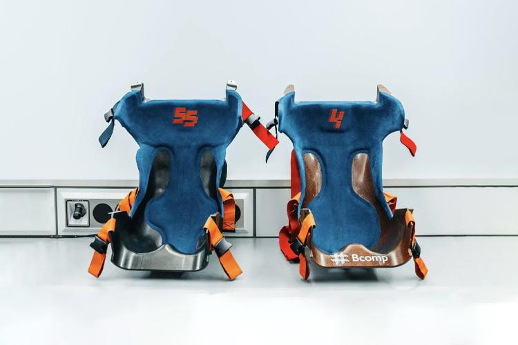 Amplitex de BComp más resistente, ligero y barato - asientos nuevos materiales