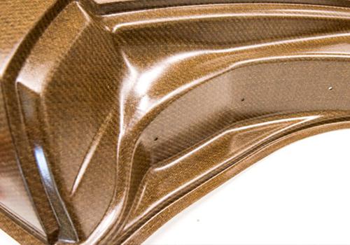 más resistente, ligero y barato - más barato y resistente que la fibra de carbono