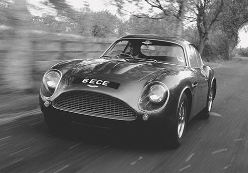Aston Martin DB4 GT Zagato de los 60s