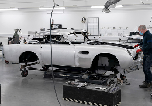 Aston Martin DB5 Goldfinger Continuation carrocería modelos