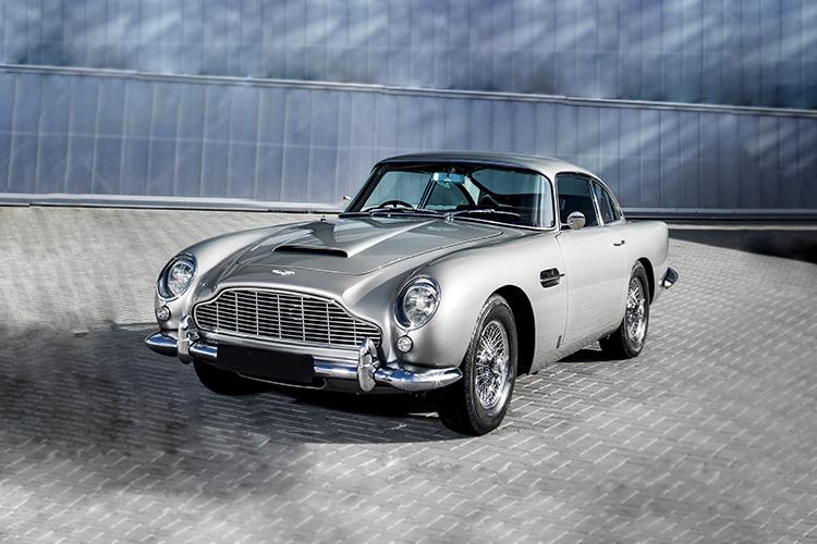 Aston Martin DB5 Goldfinger Continuation teccnología
