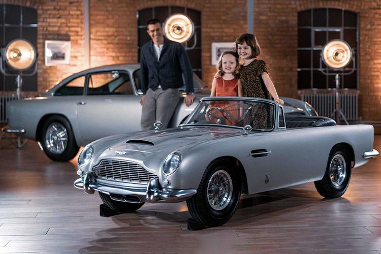 Aston Martin DB5 Junior diseño
