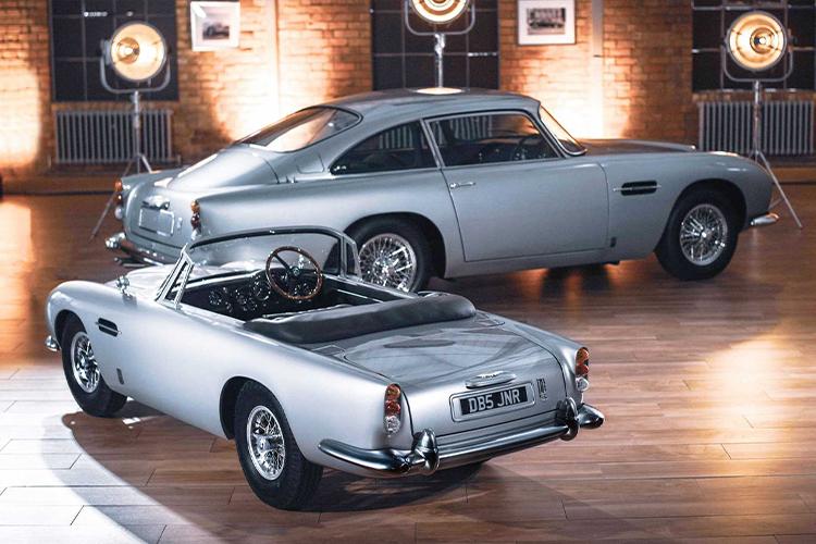 Aston Martin DB5 Junior tecnología