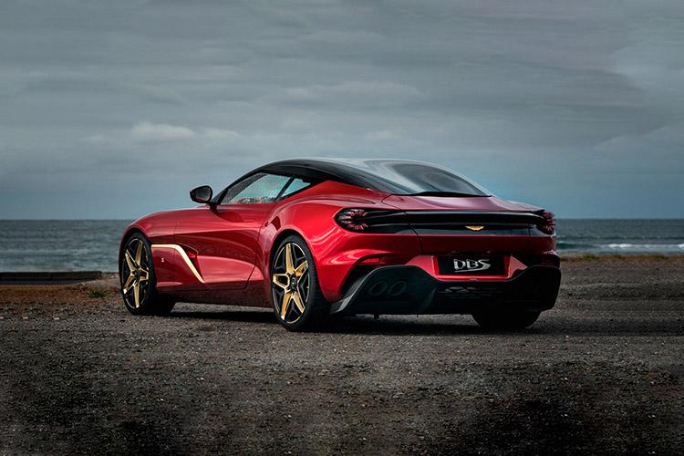 Aston Martin DBS GT Zagato diseño