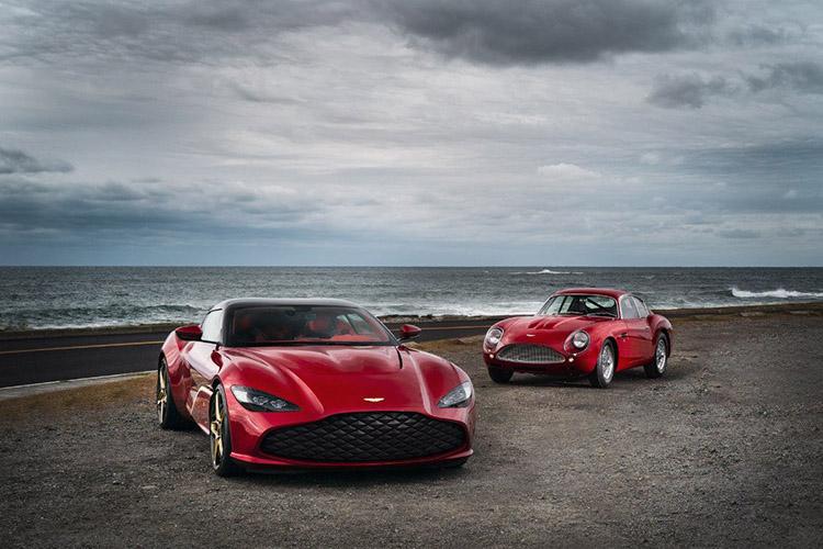 Aston Martin DBS GT Zagato vehiculo de producción