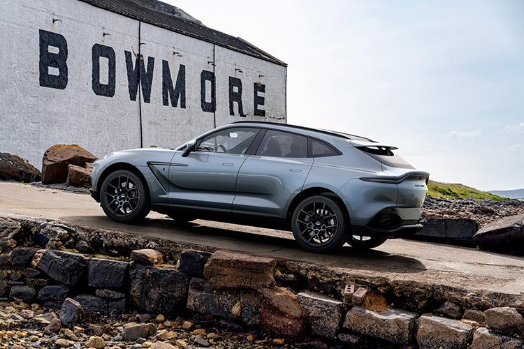 Aston Martin DBX Bowmore Edition edición especial equipamiento tecnologia