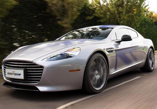 Aston Martin Rapide E en James Bond