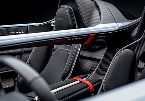 Aston Martin V12 Speedster interior