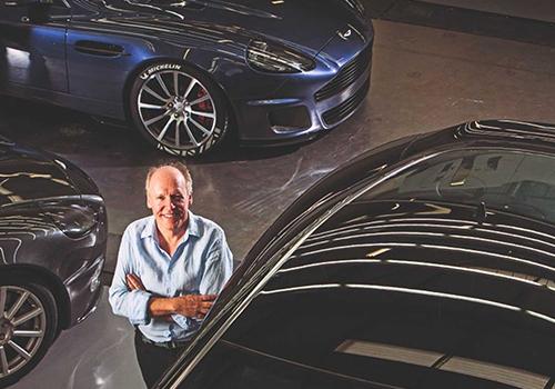 Aston Martin Vanquish 25 creaciones de ian callum