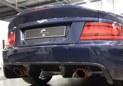 Aston Martin Vanquish 25 nuevo escape