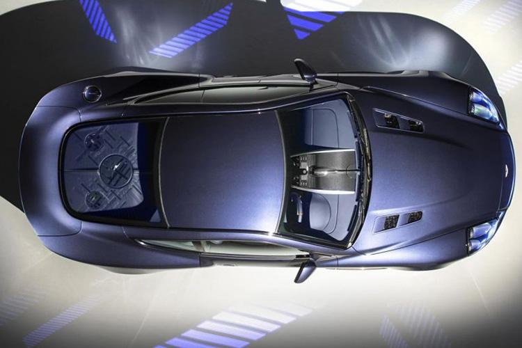 Aston Martin Vanquish 25 potencia de 580 hp