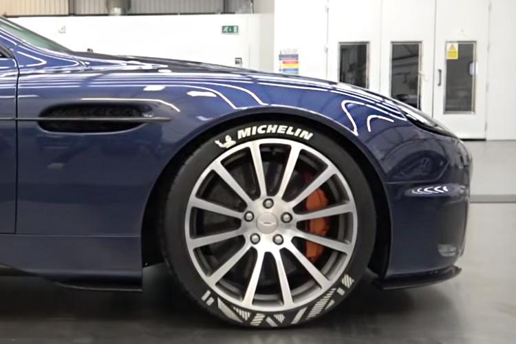 Aston Martin Vanquish diseñado por Ian Callum