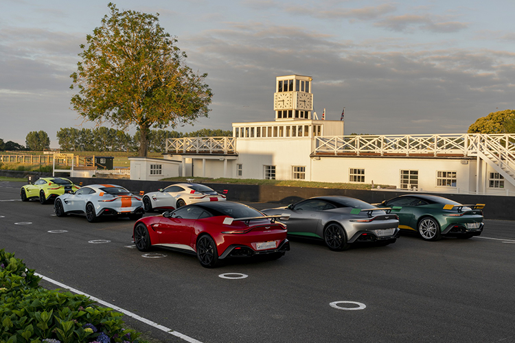 Aston Martin Vantage Heritage en Festival of Speed Goodwood 2019 julio 4 a 7