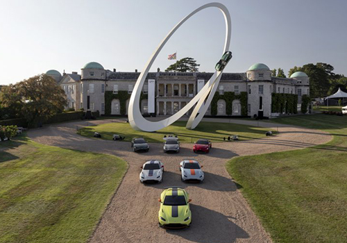 Aston Martin Vantage Heritage en Goodwood Festival of speed