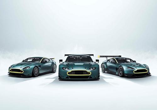 Aston Martin Vantage Legacy Collection única edición