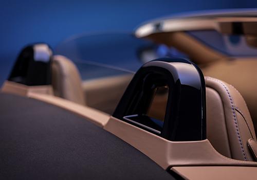 Aston Martin Vantage Roadster asientos