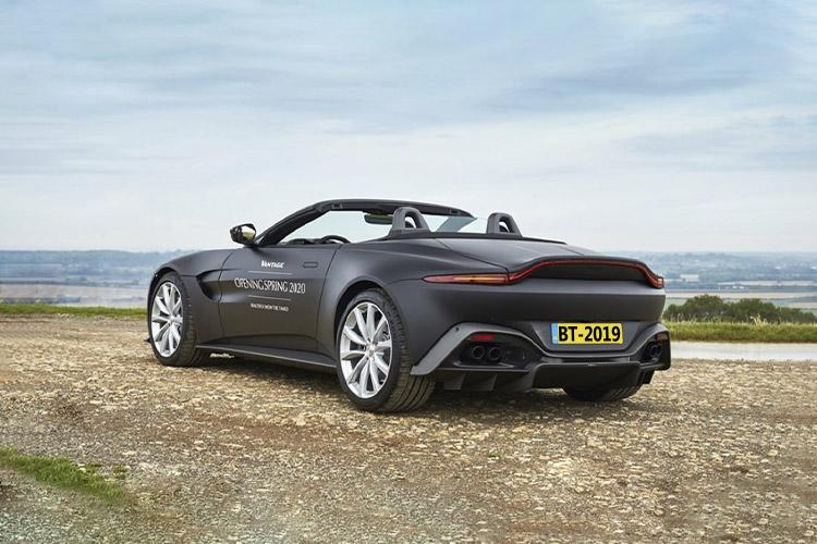 Aston Martin Vantage Roadster innovacion