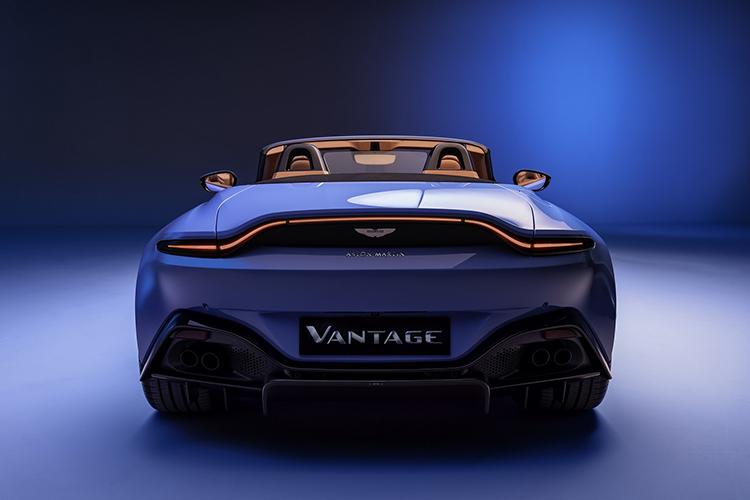 Aston Martin Vantage Roadster motor