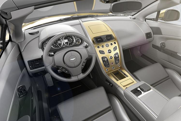 Aston Martin Vantage V12 Heritage Twins interior