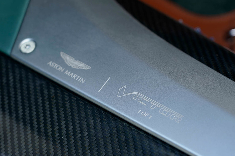 Aston Martin Victor one-off diseño