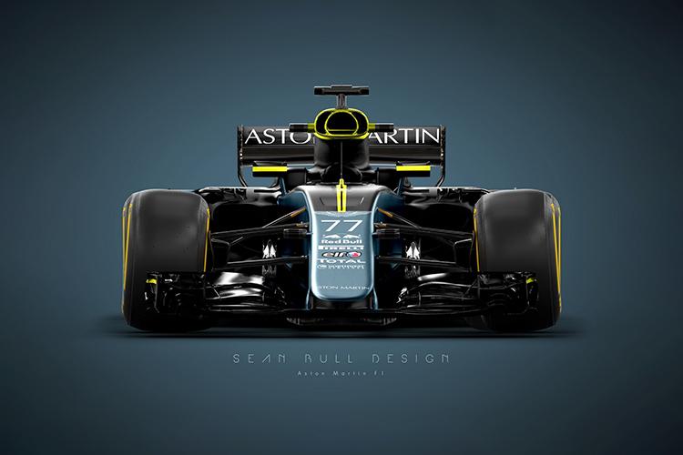 Aston Martin regresa a F1 tras 60 años fuera - diseño del monoplaza