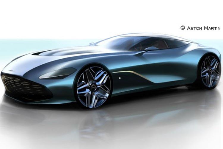Aston Martin render del DBS GT Zagato