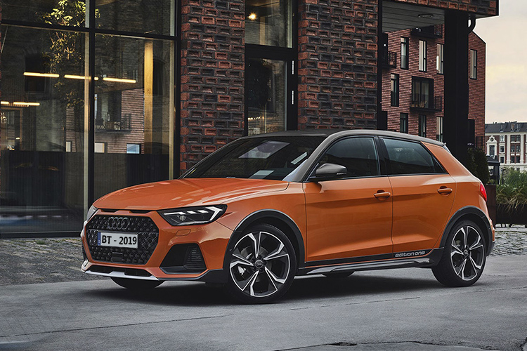 Audi A1 Citycarver crossover edition one