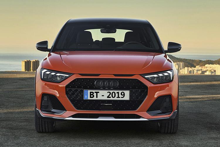 Audi A1 Citycarver crossover vehiculo alerta de mantenimiento de carril