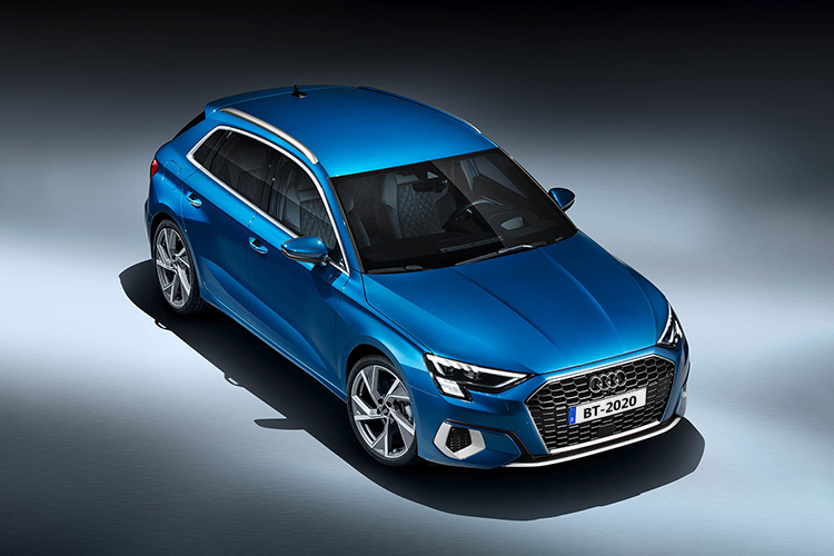 Audi A3 2021 diseño