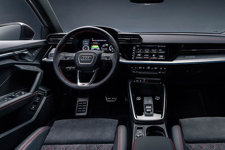 Audi A3 Sportback 45 TFSIe híbrido sistema de infoentretenimiento