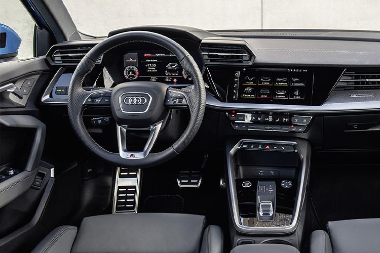 Audi A3 sedán 2021 nueva generación llega a México sistema de infoentretenimiento