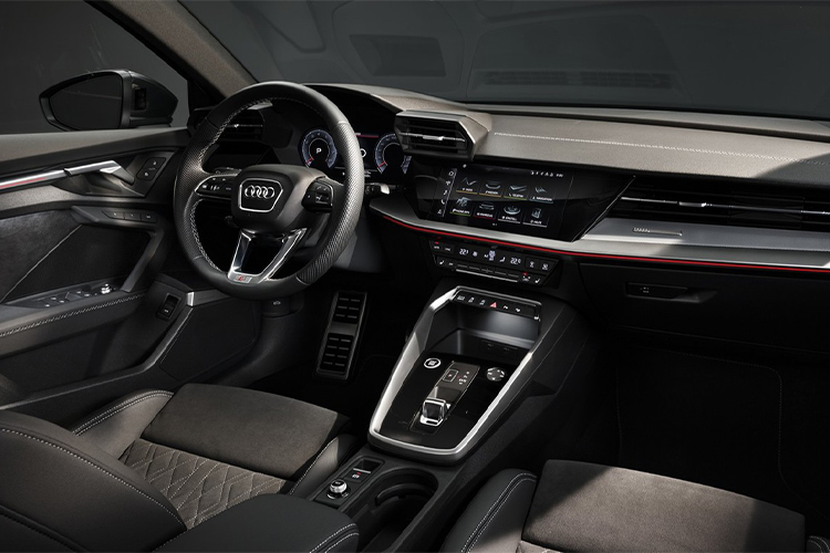 Audi A3 sedán interior