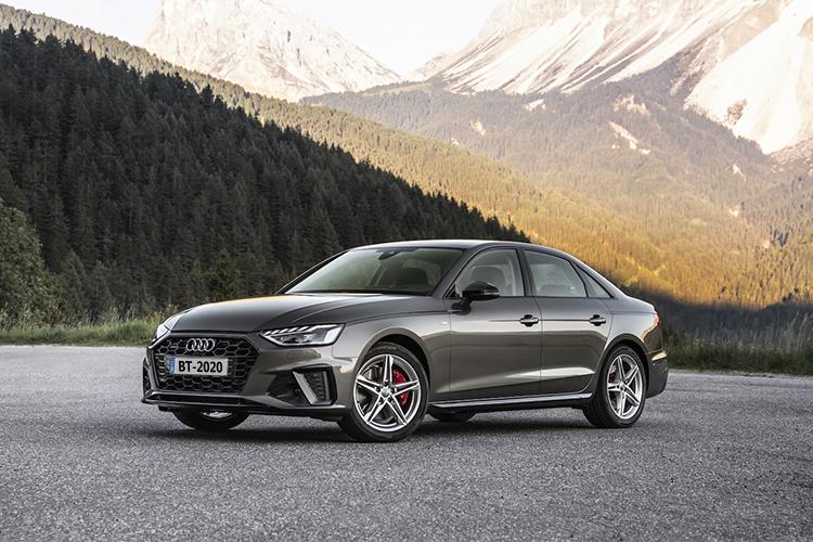 Audi A4 2020 en México diseño