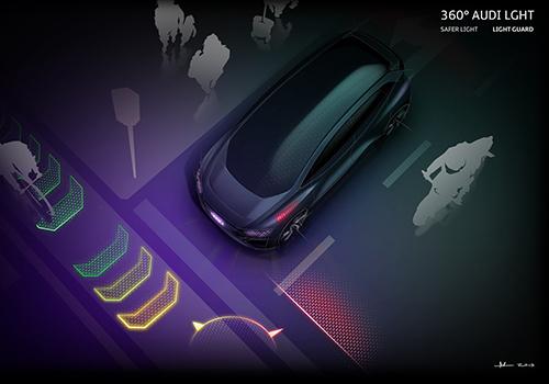 Audi AI:ME asistencia a la conducción seguridad